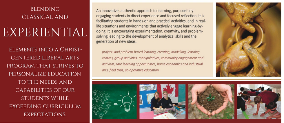 An innovative, authentic approach to learning, purposefully engaging students in direct experience and focused reflection. It is facilitating students in hands-on and practical activities, and in real-life situations and environments that actively engage learning-by-doing. It is encouraging experimentation, creativity, and problem-solving leading to the development of analytical skills and the generation of new ideas.